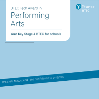 BTEC Tech Award in Performing Arts guide