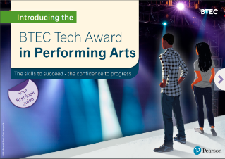 Performing Arts Pearson Qualifications