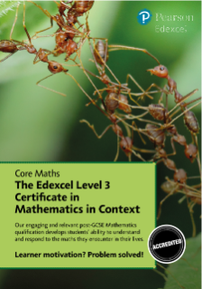 Guide - Edexcel Level 3 Certificate in Mathematics in Context