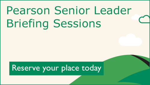 Reserve your place at a senior leader briefing session