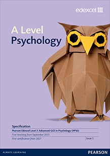 Link to Edexcel A level Psychology specification page