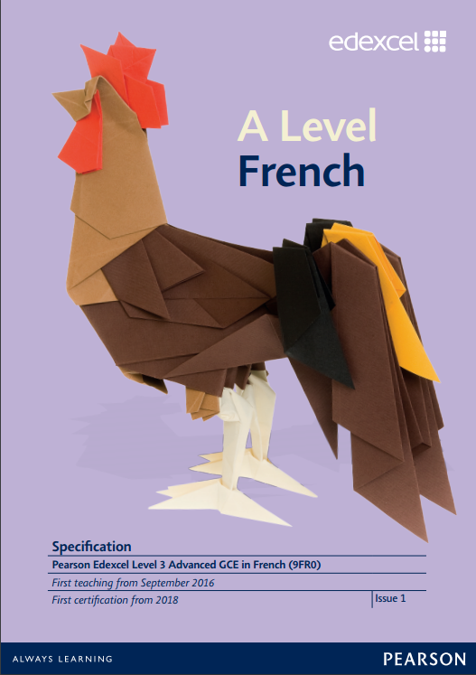 AS and A level French