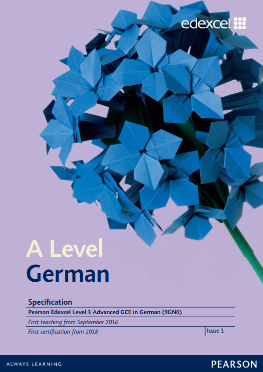 AS and A level German