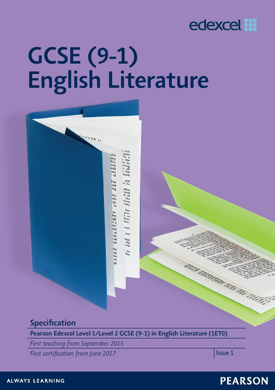Link to GCSE (9-1) English Literature specification page