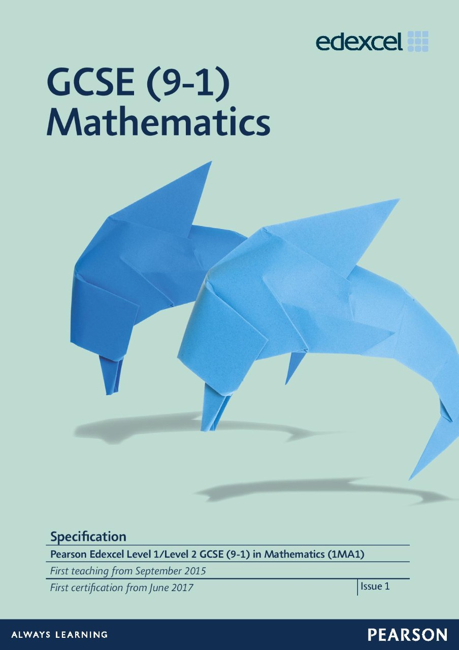 Link to GCSE (9-1) Mathematics specification page