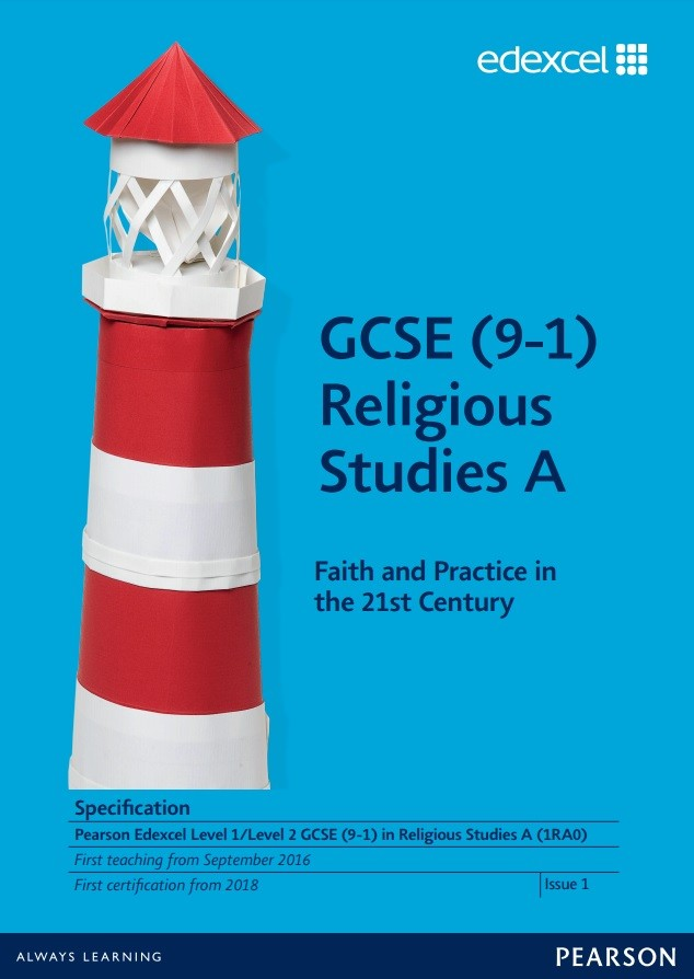Link to Edexcel GCSE (9-1) Religious Studies A (2016) specification page